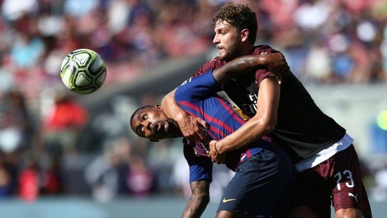 Милан излъга Барселона в последната секунда