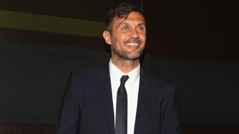 Президентът на Милан: Лидерството и опитът на Малдини ще помогнат на клуба