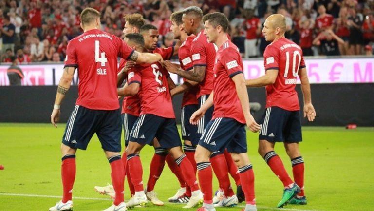 Байерн надви Манчестър Юнайтед в домакинския дебют на Ковач (видео)