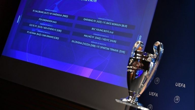Вижте жребия за плейофите за групите на Шампионската лига (видео)