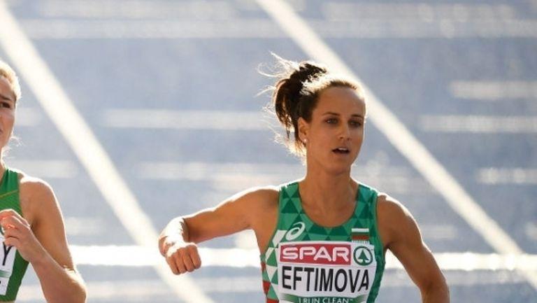 Ефтимова се класира за полуфиналите на 100 метра (снимки)