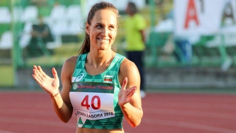 Ефтимова не успя да влезе във финала на 100 метра