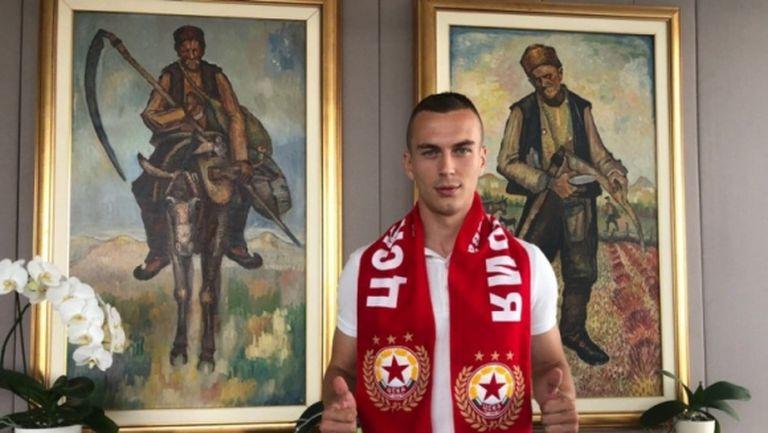 Секулич гледа на ЦСКА-София като на трамплин за националния отбор