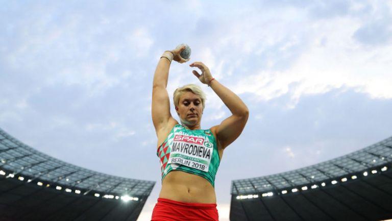 Мавродиева в топ 6 на Европа, изпусна медал