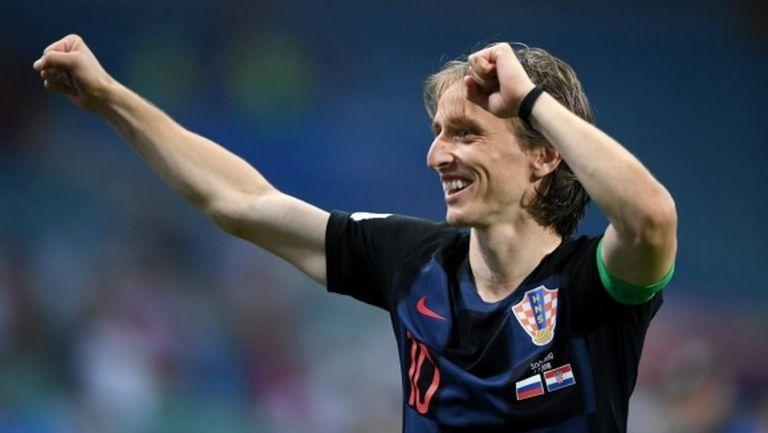 Модрич в групата за мача за Суперкупата на Европа