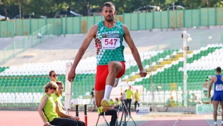 Квалификационна норма от 16.75 метра за Караилиев