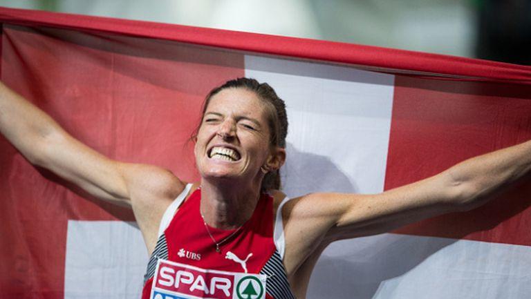 Швейцарка спечели титлата на 400 метра с препятствия