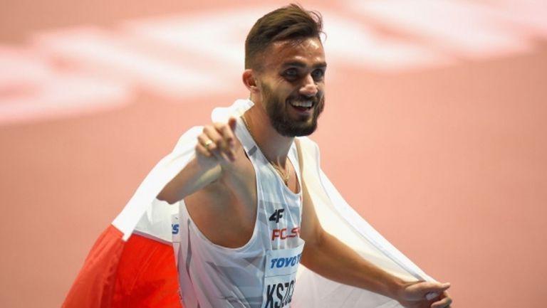 Трета поредна европейска титла за Кшчот на 800 м, злато за Полша и на 400 м