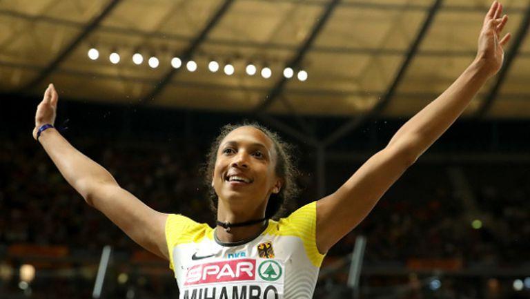 Германка е новата шампионка в скока на дължина