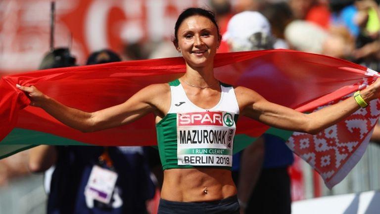 Разкървавената Волха Мазуронак спечели маратона в Берлин