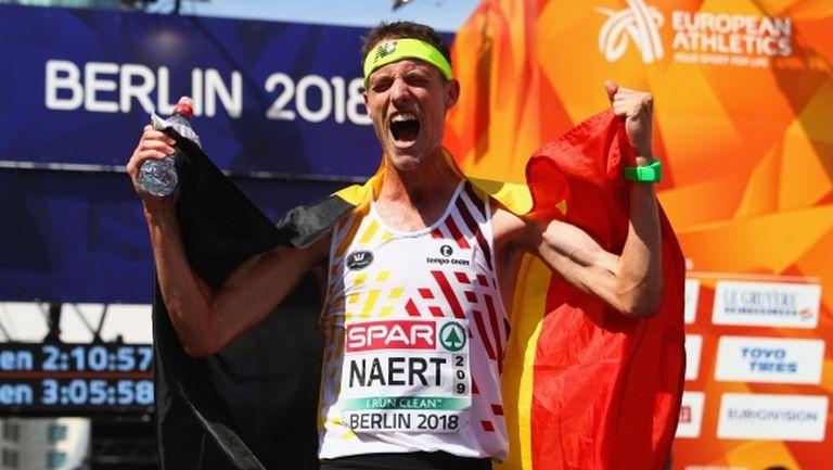 Белгиец победи в мъжкия маратон с рекордно време
