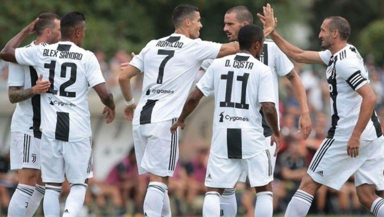 Ювентус загря за новия сезон с разгром, 8 минути бяха достатъчни на Роналдо да отбележи (видео)