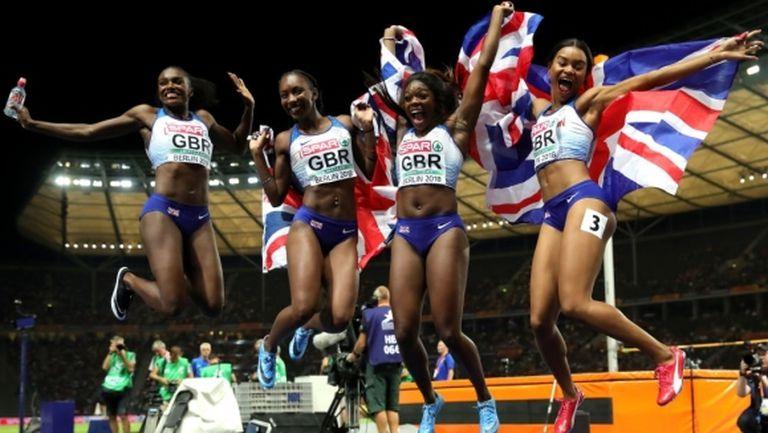 Ашър-Смит с три европейски титли в спринта