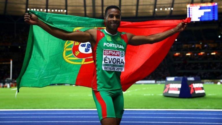 34-годишният Евора спечели първа европейска титла на открито в тройния скок