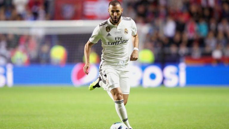 Бензема вече е вкарвал навсякъде за Реал