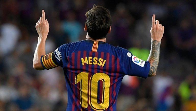 Меси е вкарал 6.4% от головете на Барса в Ла Лига