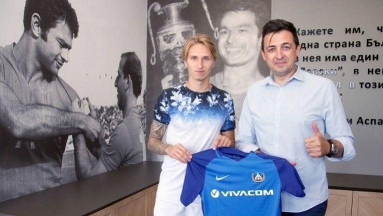 Естонското попълнение на Левски се разминало с националния тим заради… неразбирателство
