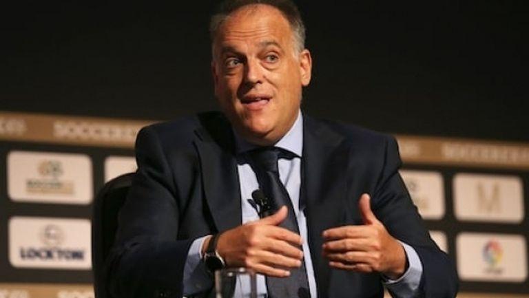 Президентът на Ла Лига с нова атака срещу УЕФА и Интер