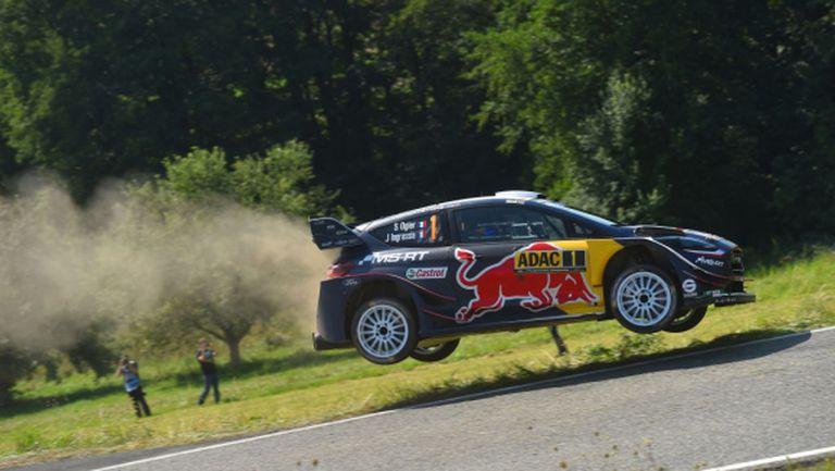 Ожие подписва последния си контракт във WRC