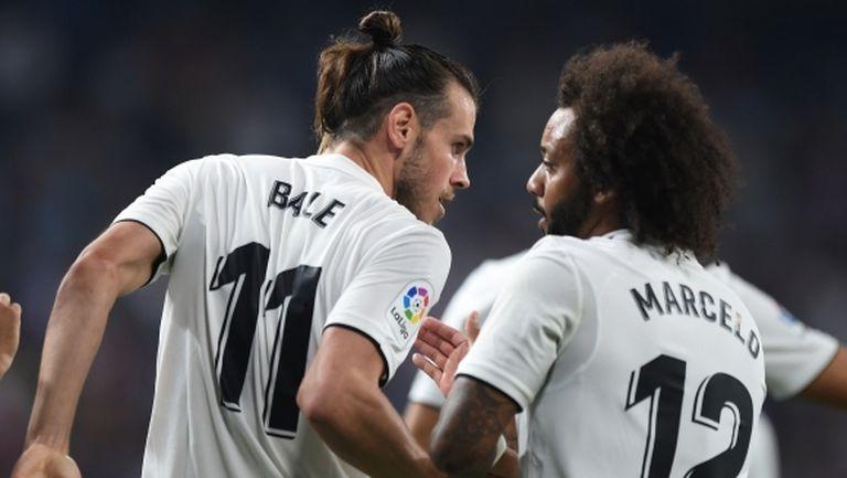 Реал Мадрид на Юлен владее топката по-често