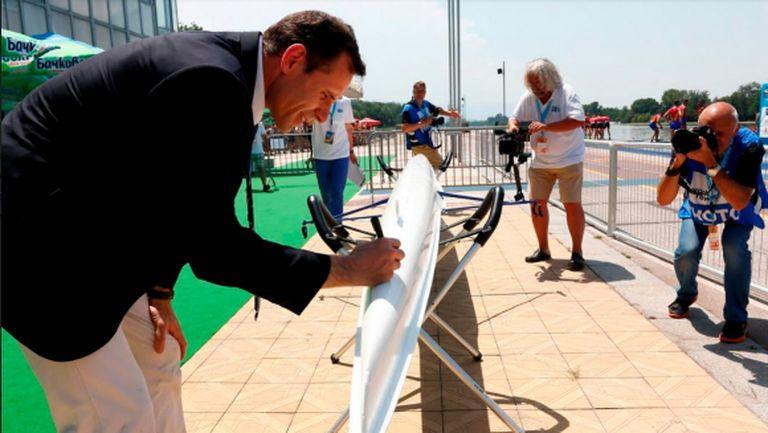 Огромен медиен интерес за световното първенство по гребане в Пловдив