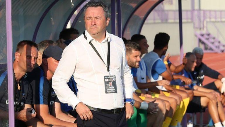 Стоянович: Две тотално различни полувремена, не съм очаквал толкова силен старт