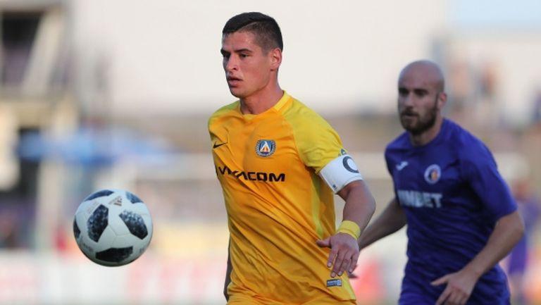 Викат Иван Горанов в националния тим