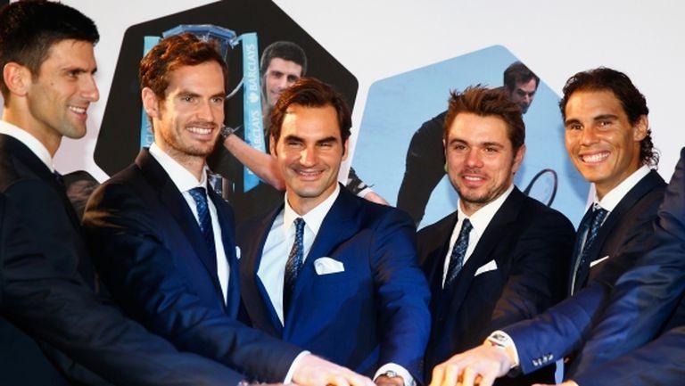 Федерер планира да събере Голямата четворка за Laver Cup 2019