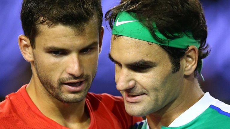 Федерер разказа за съветите, които е давал на Димитров