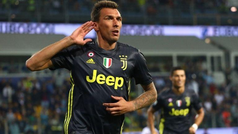 "Ювентус върви по график в Серия ""А"", Роналдо пак не успя да отбележи (видео)"