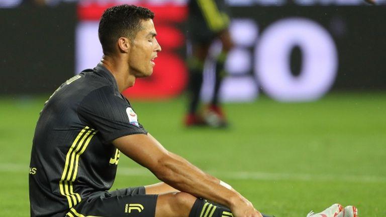 Роналдо вече се дразнел от сушата