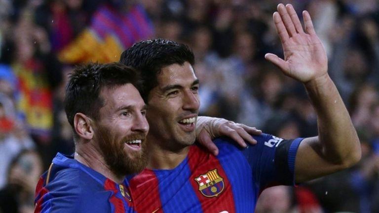 Суарес: Лео Меси е най-великият в историята