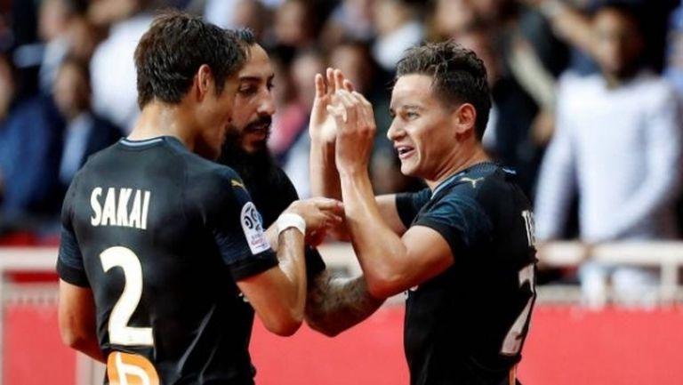 """Марсилия излъга Монако в последната минута след страхотен мач на """"Луи II"""" (видео)"""