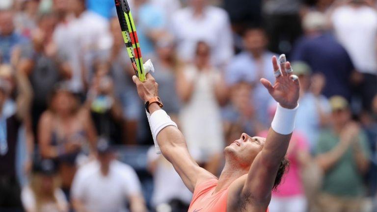 Още една победа остава Надал на върха след US Open