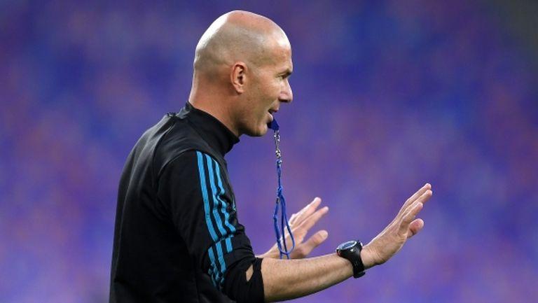 Зидан: В Мадрид трябва винаги да печелиш и да поддържаш ниво на игра