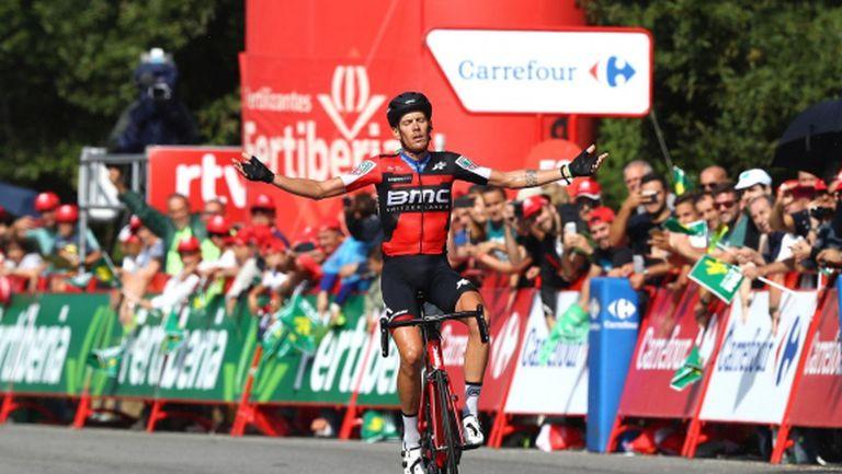 """Алесандро де Марки спечели 11-ия етап от """"Вуелта""""-та"""