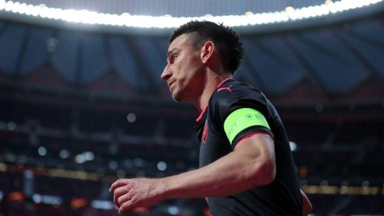 Капитанът на Арсенал смятал да напусне тима преди тежката контузия