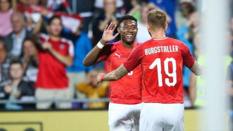 Австрия надигра Швеция в контрола