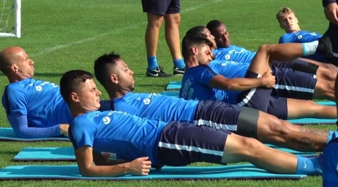 Новият бразилец с първа тренировка за Левски