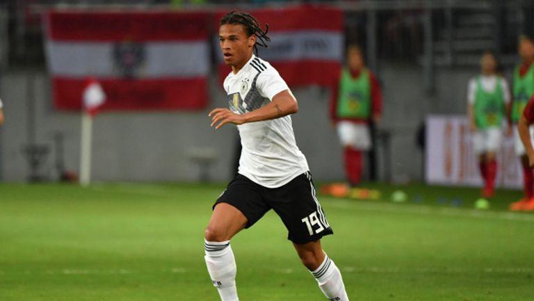 Освободиха Сане от отбора на Германия