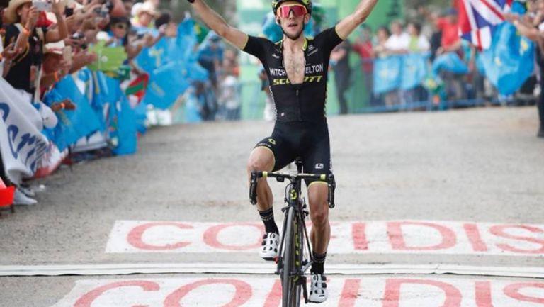 Саймън Йейтс спечели 14-ия етап от Обиколката на Испания и отново излезе начело