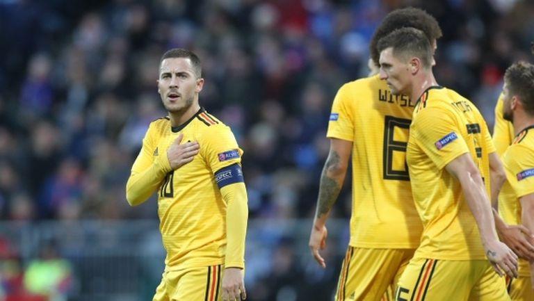 И Белгия не пощади Исландия (видео)