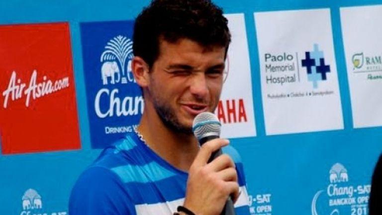 Григор Димитров си спомни за големия пробив в тениса през 2010-а