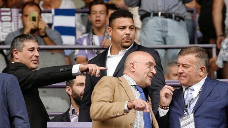 На Роналдо му се искаше да слезе на терена при завръщането в Ла Лига
