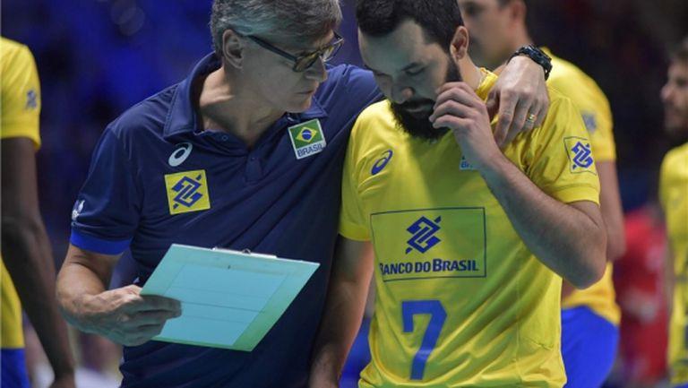 Бразилия обърна Русия след петгеймов трилър на финалите! Уилям Аржона герой (видео)