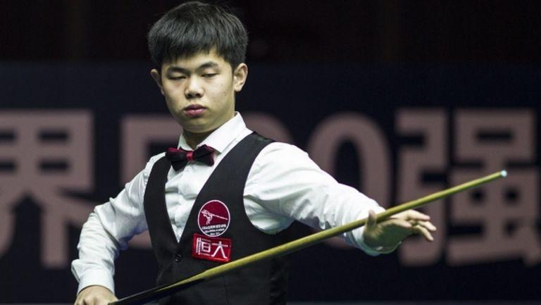 Тийнейджър изхвърли Дин от Шампионата на Китай