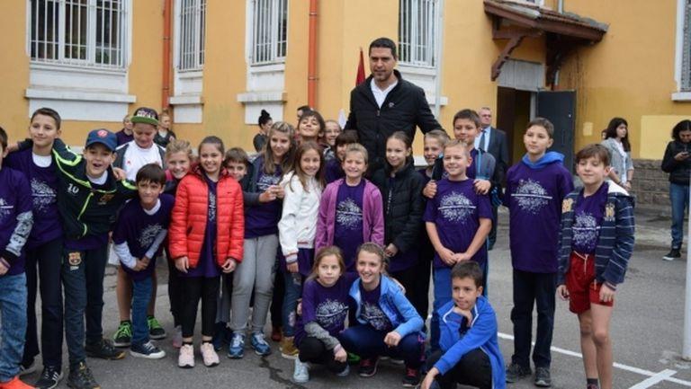 Европейски ден на спорта в училище среща ученици и шампиони на българския спорт