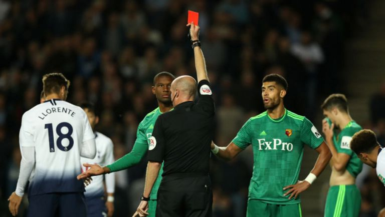 Отмениха нелепия червен картон на Кабаселе, показан му срещу Тотнъм
