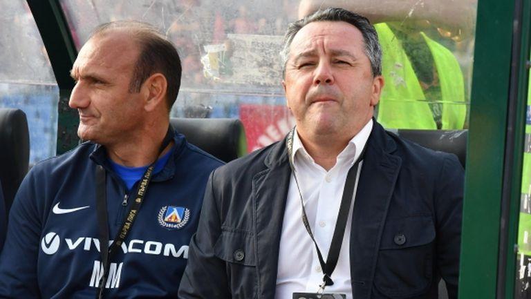 Стоянович похвали своите футболисти, разкри как Левски е спечелил