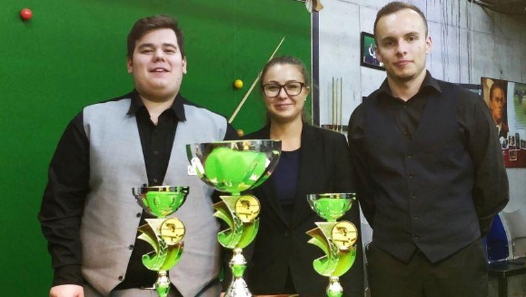 Титла и сенчъри брейк за Георги Величков в първия турнир по снукър за новия сезон